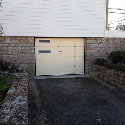 Porte de garage - Loudéac (22)